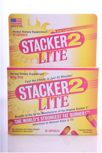 Original NVE Stacker 2 Lite - 20ct Box with Ephedra