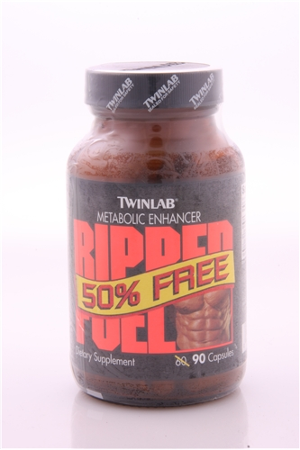 Original Twinlab Ripped Fuel 90ct with Ephedra
