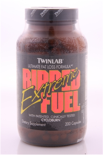 Original Twinlab Ripped Fuel Extreme 200ct with Ephedra