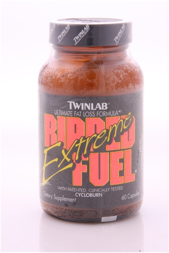 Original Twinlab Ripped Fuel Extreme 60ct with Ephedra